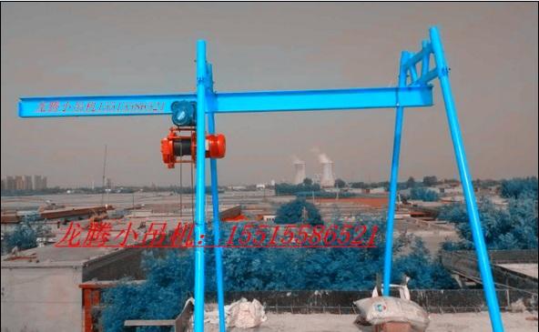 四柱直滑式小吊机