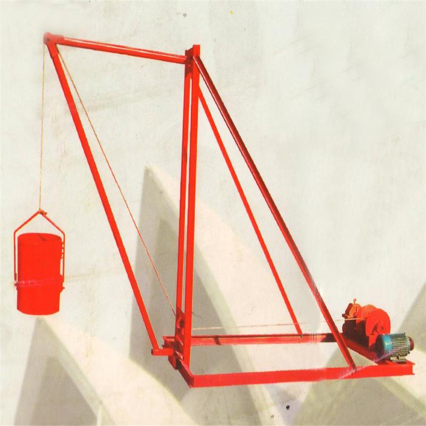 人工挖桩打井专用小吊机