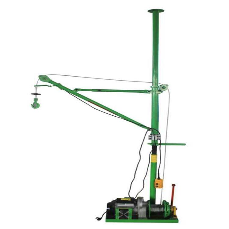 室内单立柱便携式小吊机吊运机
