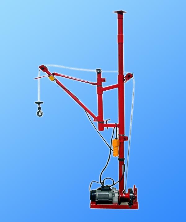 折臂式小吊机小窗口用拐臂小吊机