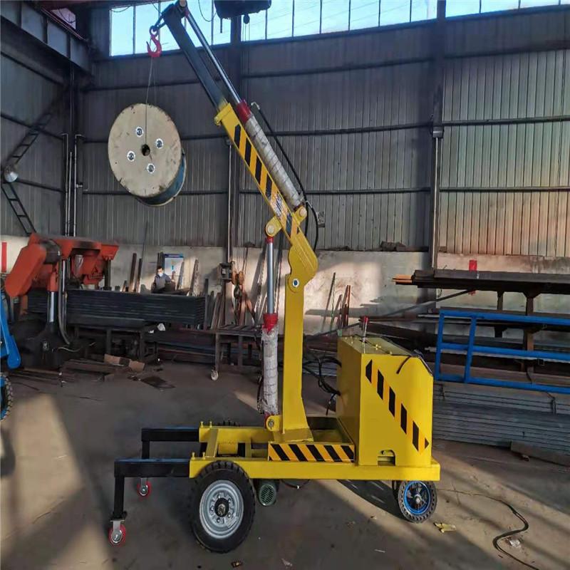 一吨移动式液压吊机